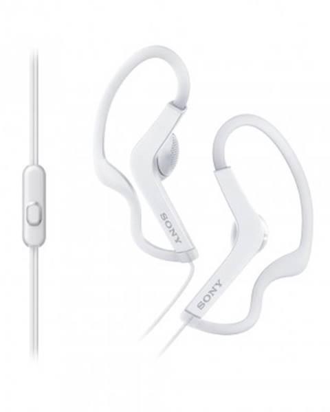 Sony Špuntová sluchátka sony sluchátka active, handsfree, bílé, mdras210apw.ce7