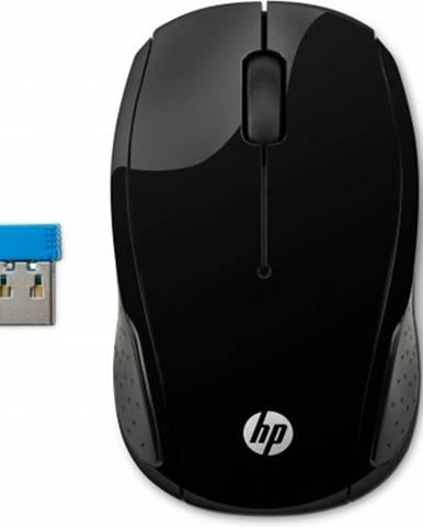 Bezdrátové myši hp 200, černá x6w31aa
