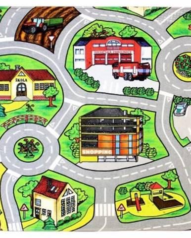 Kusový koberec silnice 11