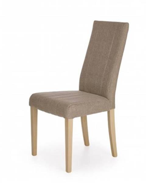 Halmar Jídelní židle jídelní židle diego hnědá