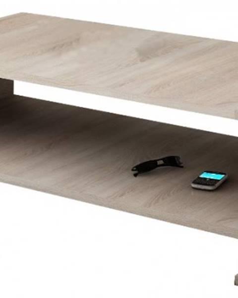 Meble Laski Konfereční stolek - dřevěný link - konferenční stolek