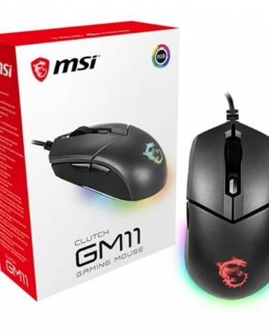 Drátové myši herní myš msi clutch gm11, 5000 dpi