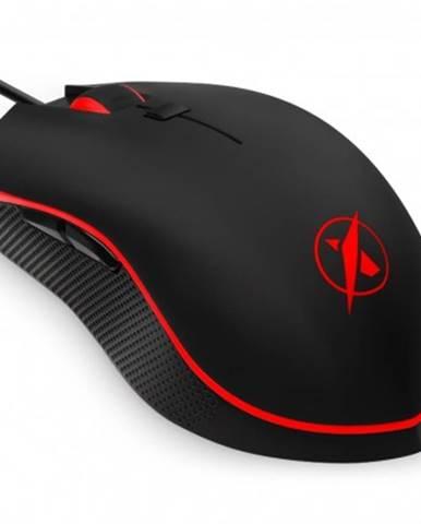 Drátové myši herní myš niceboy oryx m220 zen, 4200 dpi, černá