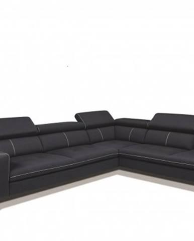 Rohová sedačka lexington pravý roh šedá