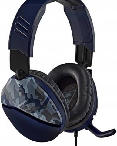 Sluchátka přes hlavu herní sluchátka turtle beach recon 70, camuflage modrá