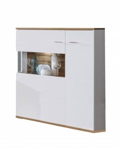 Vitrína obývací vitrína wotan - typ 3, levá