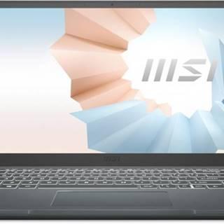 Pro náročné/Profi notebook msi modern 14 b11sb-216cz i7 16gb, ssd 512gb, mx450