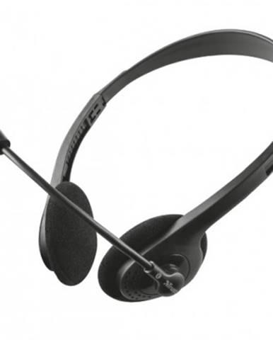Sluchátka přes hlavu sluchátka trust ziva chat headset