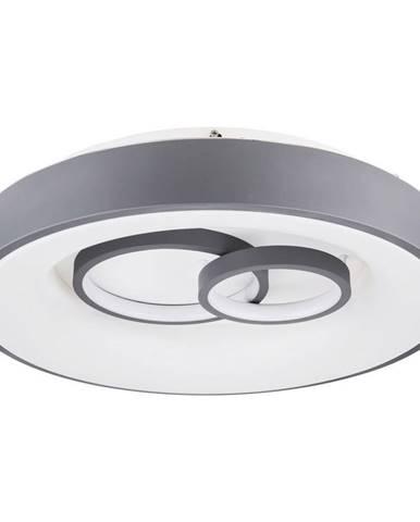 STROPNÍ LED SVÍTIDLO, 48/10 cm - šedá, bílá