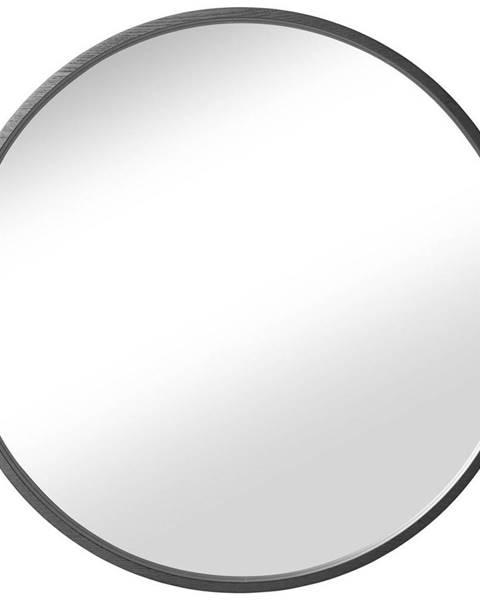 Esposa NÁSTĚNNÉ ZRCADLO, 80 cm - černá