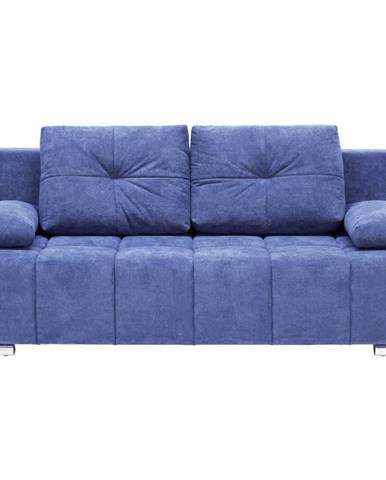 Xora ROZKLÁDACÍ POHOVKA, textil, tmavě modrá - tmavě modrá