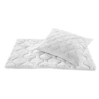 Boxxx LOŽNÍ SADA, polyester,140x200/70x90 cm - bílá