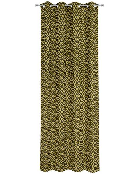 Esposa Esposa ZÁVĚS S KROUŽKY, zatemnění, 140/245 cm - vícebarevná