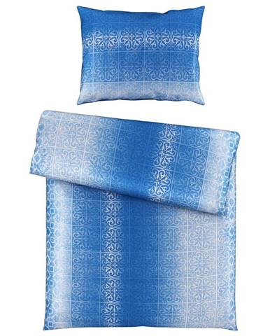 Novel POVLEČENÍ, satén, modrá, 140/200 cm - modrá
