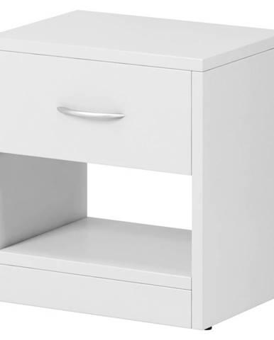 Boxxx NOČNÍ STOLEK, bílá, 39/41.5/28 cm - bílá