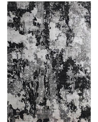 Esposa ORIENTÁLNÍ KOBEREC, 90/160 cm, černá, bílá - černá, bílá
