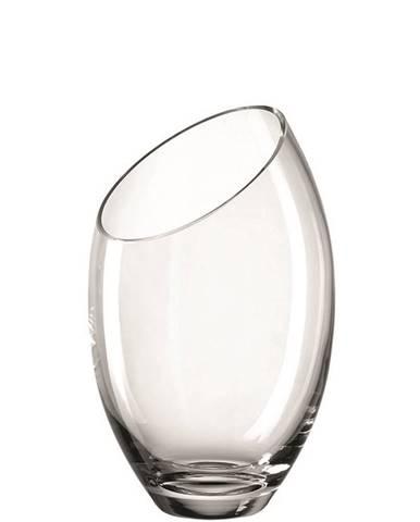 Leonardo VÁZA, sklo, 26,00 cm - průhledné