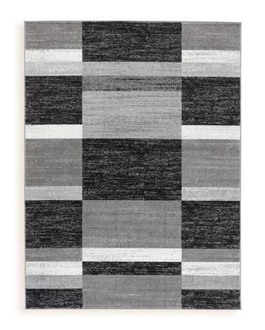 Ombra TKANÝ KOBEREC, 160/220 cm, šedá - šedá