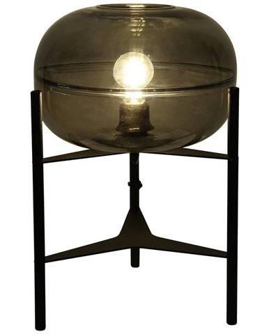 Dieter Knoll STOLNÍ LAMPA, E27, 30/45 cm - světle šedá