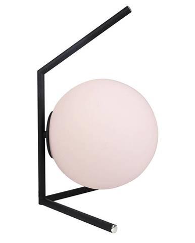 Novel STOLNÍ LAMPA, E14, 29/44 cm - černá, bílá