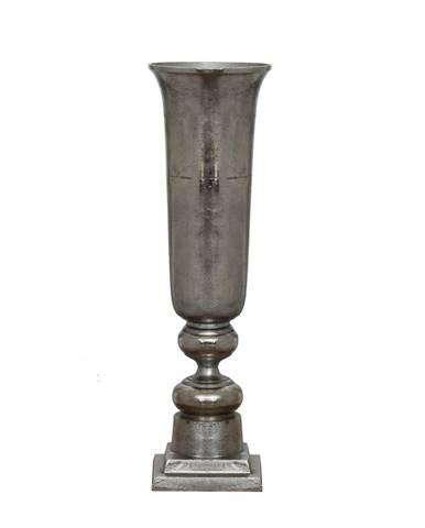 Ambia Home VÁZA, kov, 101 cm - barvy stříbra
