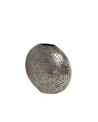 Ambia Home VÁZA, kov, 31 cm - barvy stříbra