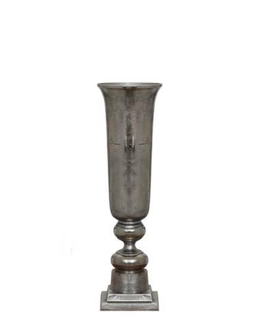 Ambia Home VÁZA, kov, 86 cm - barvy stříbra