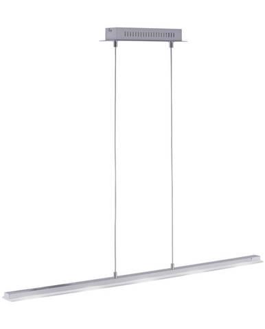 ZÁVĚSNÉ LED SVÍTIDLO, 100/8/120 cm - barvy hliníku