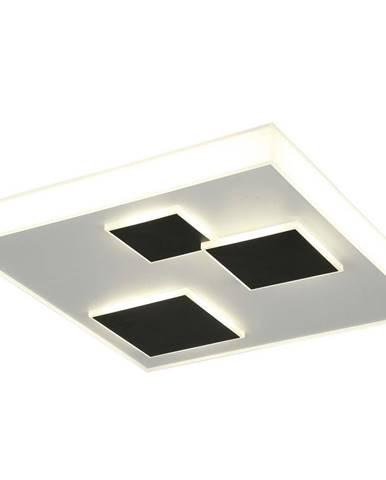 Ambiente STROPNÍ LED SVÍTIDLO, 51,5/51,5/10,5 cm - černá, bílá