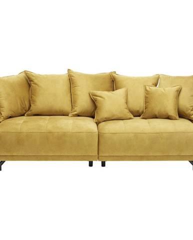 Carryhome MEGA POHOVKA, textil, žlutá - žlutá