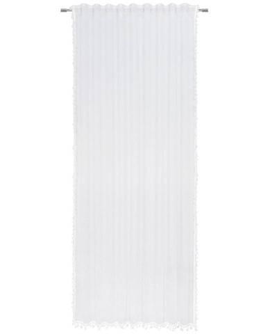 Esposa HOTOVÝ ZÁVĚS, průhledné, 135/245 cm - bílá