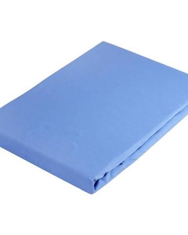 Novel PROSTĚRADLO NAPÍNACÍ, žerzej, modrá, 100/200 cm - modrá