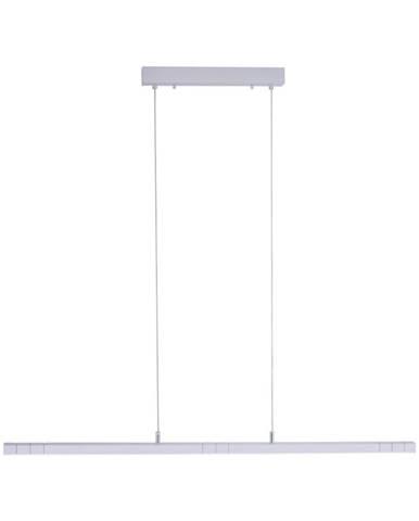 ZÁVĚSNÉ LED SVÍTIDLO, 120/6/120 cm - barvy hliníku