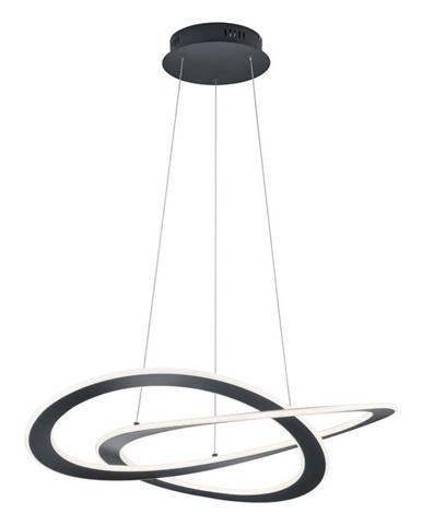 ZÁVĚSNÉ LED SVÍTIDLO, 70/150 cm - antracitová