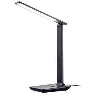 Novel LED LAMPA NA PSACÍ STŮL, dotykový stmívač, 34,5 cm - černá
