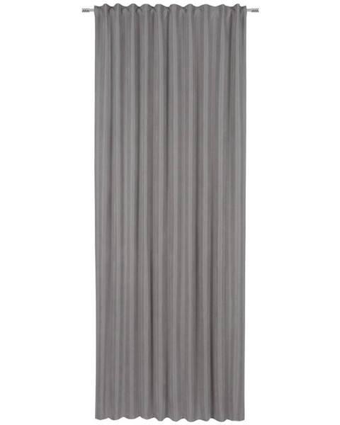 Esposa Esposa HOTOVÝ ZÁVĚS, neprůsvitné, 140/245 cm - šedá