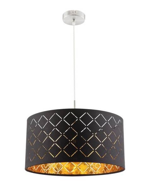 Ambia Home ZÁVĚSNÉ SVÍTIDLO, E27/60 W, 40/140 cm - černá, barvy zlata