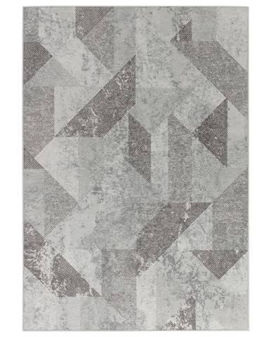 Dieter Knoll VINTAGE KOBEREC, 125/180 cm, šedá - šedá