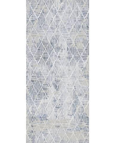 Novel TKANÝ KOBEREC, 80/150 cm, modrá, bílá - modrá, bílá