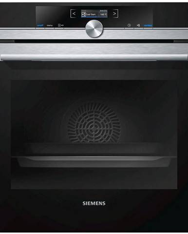 Siemens VESTAVNÁ TROUBA HB675G0S1 - barvy nerez oceli