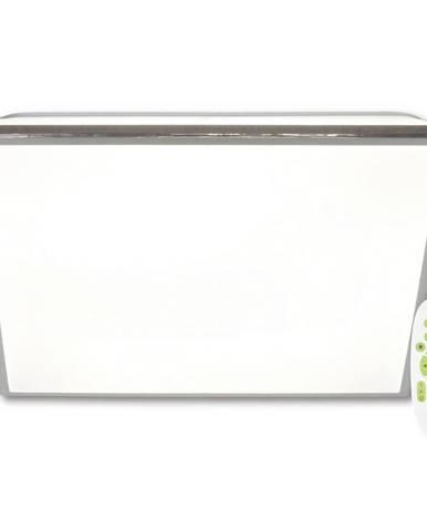 STROPNÍ LED SVÍTIDLO, 48/48/6.5 cm - barvy stříbra