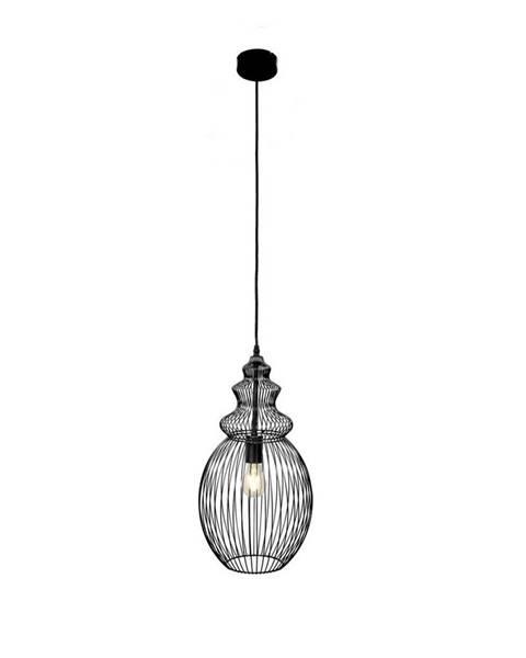 Marama Marama ZÁVĚSNÉ SVÍTIDLO, E27/60 W, 28/150 cm - černá