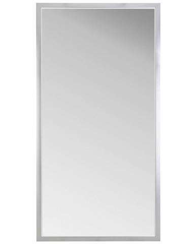 Carryhome NÁSTĚNNÉ ZRCADLO, 100/200/1,8 cm, - barvy hliníku