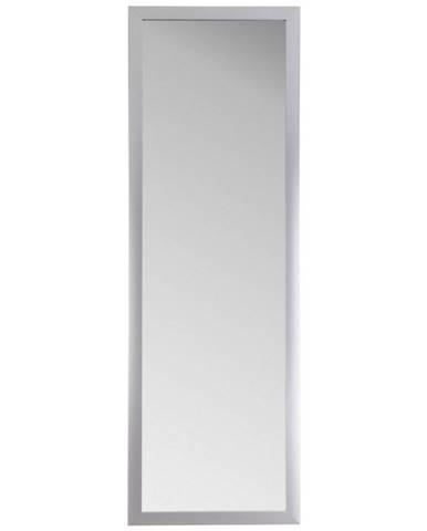 Carryhome NÁSTĚNNÉ ZRCADLO, 47/147/1,8 cm, - barvy hliníku