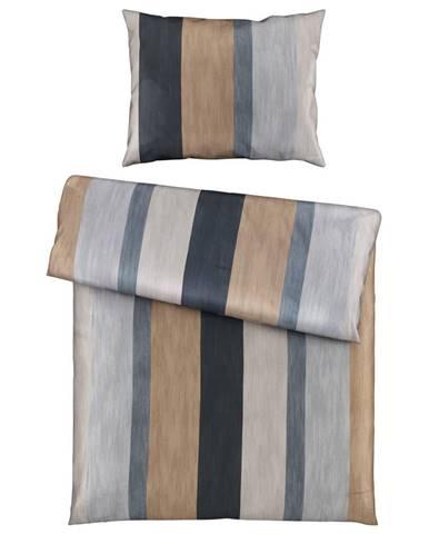 Joop! POVLEČENÍ, makosatén, antracitová, šedá, barvy zlata, 140/200 cm - antracitová, šedá, barvy zlata