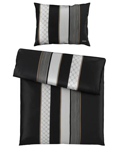 Joop! POVLEČENÍ, makosatén, černá, bílá, 140/200 cm - černá, bílá