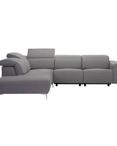 Pure Home Lifestyle SEDACÍ SOUPRAVA, textil, šedá - šedá