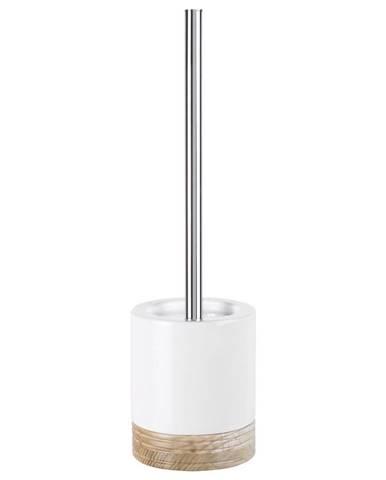 Sadena WC SADA - ŠTĚTKA A DRŽÁK - bílá, barvy dubu