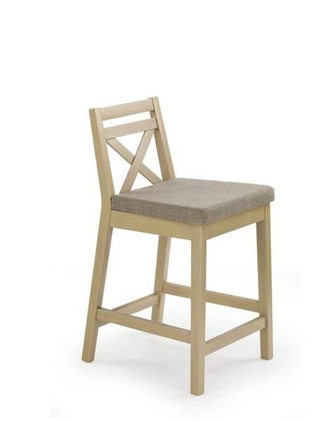 Halmar Halmar Barová židle BORYS LOW, dub sonoma/INARI 23