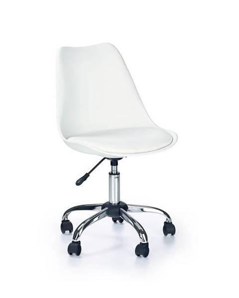 Halmar Halmar Dětská židle Coco, bílá
